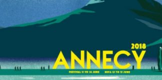 Αφίσα Annecy International Animated Film Festival 11-16 Ιουνίου 2018